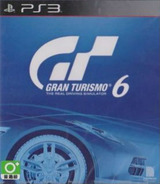 Gran Turismo 6 PS3 cover (BCAS25018)
