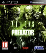 Aliens vs. Predator PS3 cover (BLES00585)