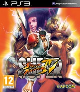 Super Street Fighter IV PS3 cover (BLES00770)