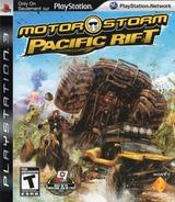 MotorStorm: Pacific Rift PS3 cover (BCUS98155)