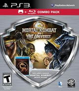 Mortal Kombat vs. DC Universe PS3 cover (BLUS41027)