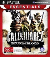 Call of Juarez: Bound in Blood PS3 cover (BLES00556)