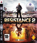 Resistance 2 PS3 cover (BCES00226)