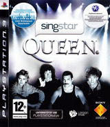 SingStar: Queen PS3 cover (BCES00494)