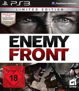 Enemy Front PS3 cover (BLES01654)