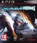 Metal Gear Rising: Revengeance PS3 cover (BLES01750)