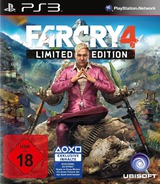 Far Cry 4 PS3 cover (BLES02011)