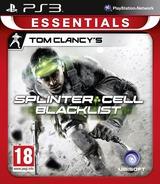 Tom Clancy's Splinter Cell: Blacklist PS3 cover (BLES01766)
