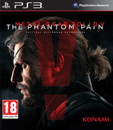 Metal Gear Solid V – The Phantom Pain PS3 cover (BLES02102)