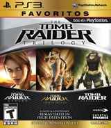 The Tomb Raider Trilogy PS3 cover (BLUS30718)