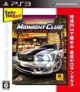 Midnight Club: Los Angeles (Spike the Best) PS3 cover (BLJS10077)
