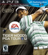 Tiger Woods PGA Tour 12 PS3 cover (BCUS98374)