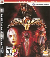 Soul Calibur IV PS3 cover (BLUS30160)