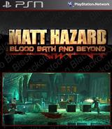 Matt Hazard: Blood Bath and Beyond SEN cover (NPEB00133)