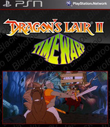 Dragon's Lair II: Time Warp SEN cover (NPEB00438)