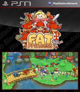 Fat Princess SEN cover (NPJA90120)