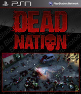 Dead Nation: Road of Devastation SEN cover (NPUA80358)