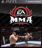 EA Sports MMA SEN cover (NPUB30509)