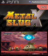 Metal Slug X SEN cover (NPUJ01212)