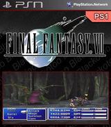 Final Fantasy VII SEN cover (NPUJ94163)