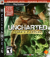 Uncharted: Drake's Fortune PS3 cover (BCUS98103)