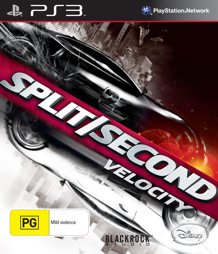 Spit/Second: Velocity PS3 coverHQ (BLES00780)