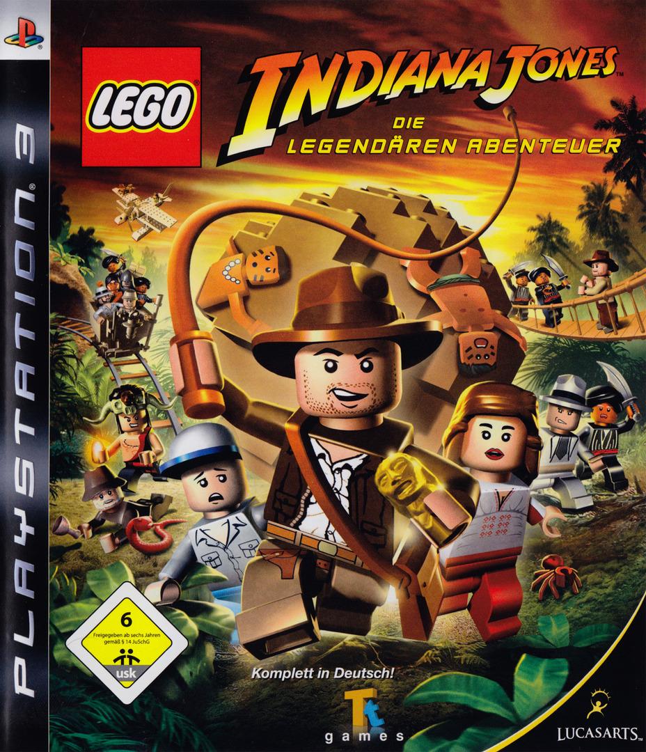 Lego Indiana Jones: Die Legendären Abenteuer PS3 coverHQ (BLES00254)