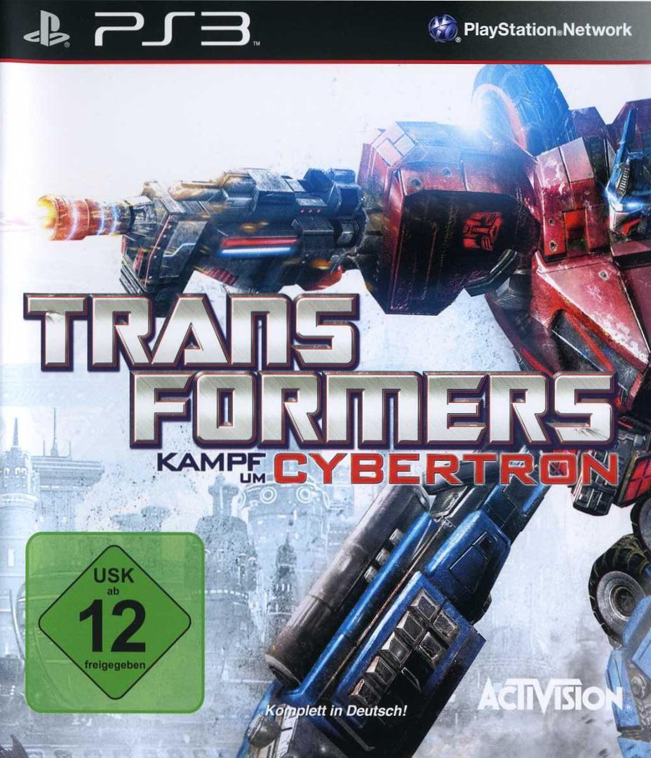 Transformers: Kampf um Cybertron PS3 coverHQ (BLES00833)