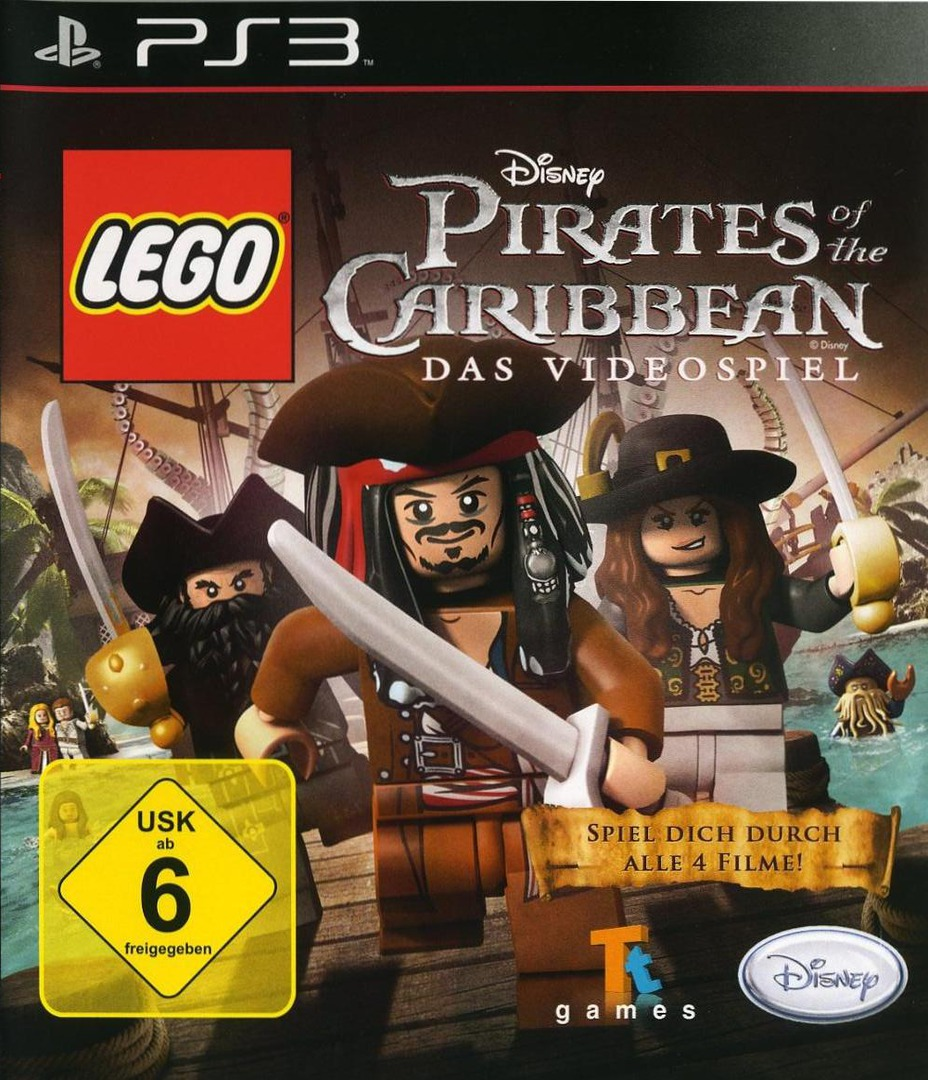 Pirates of the Caribbean: Das Videospiel PS3 coverHQ (BLES01239)