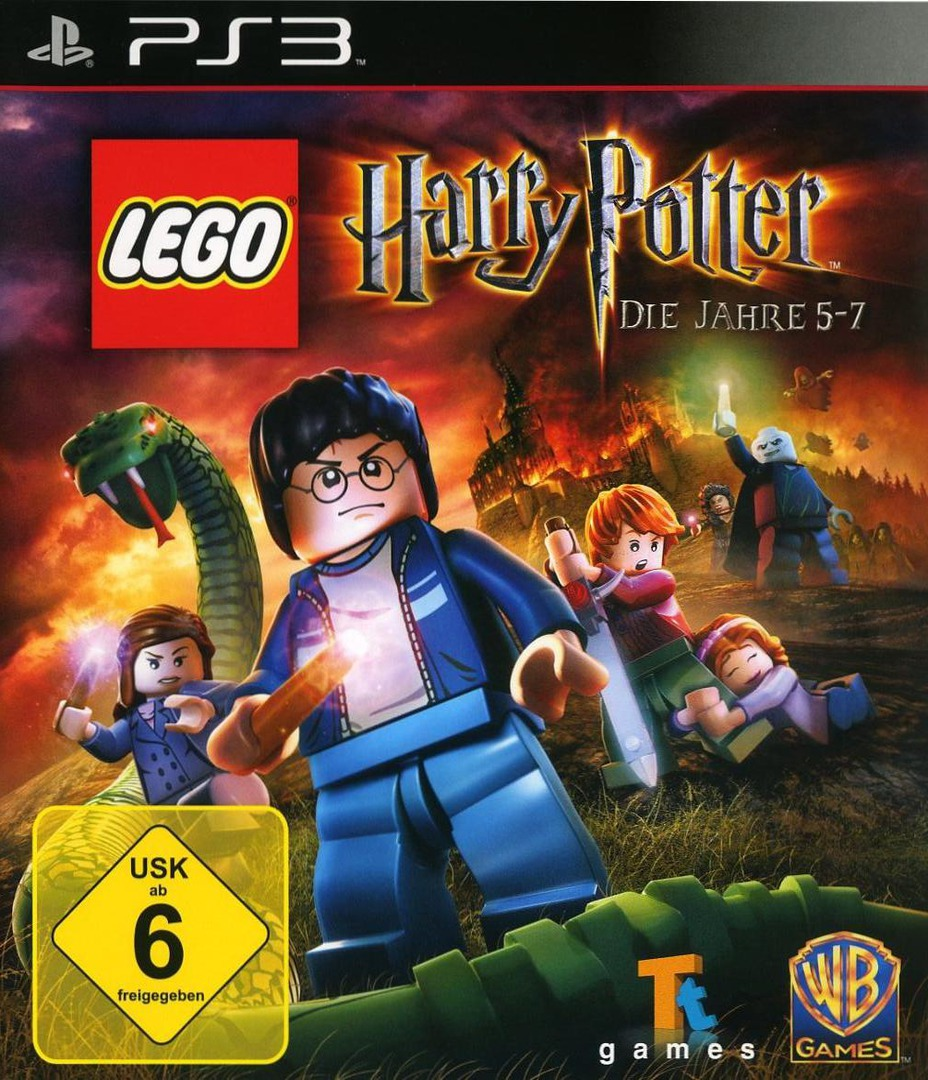 LEGO Harry Potter: Die Jahre 5-7 PS3 coverHQ (BLES01348)