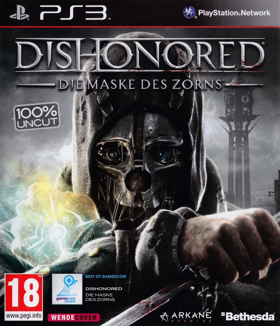 Dishonored: Die Maske des Zorns PS3 coverHQ (BLES01675)