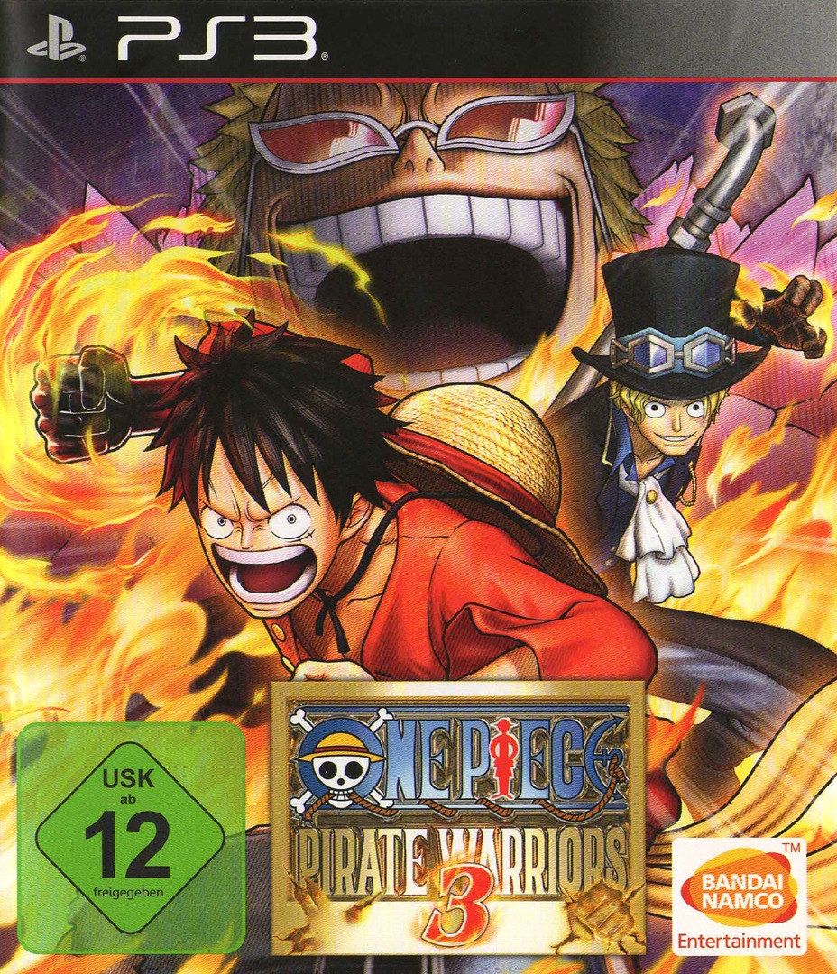 One Piece Pirate Warriors 3 PS3 coverHQ (BLES02140)