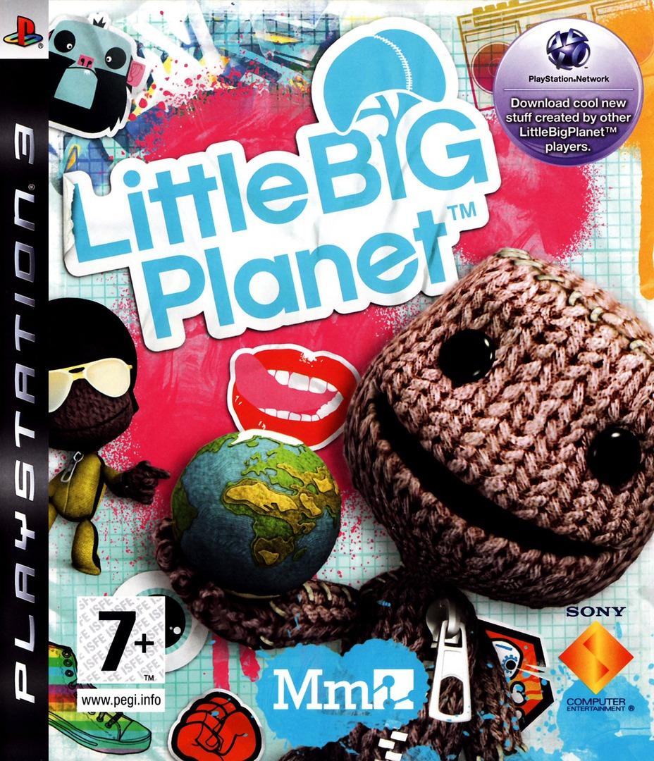 LittleBigPlanet PS3 coverHQ (BCES00141)