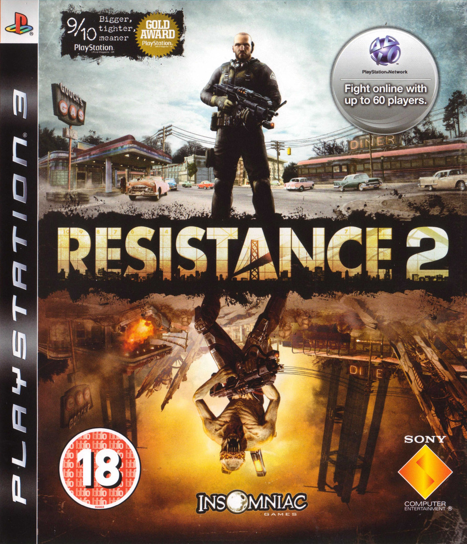Resistance 2 PS3 coverHQ (BCES00226)