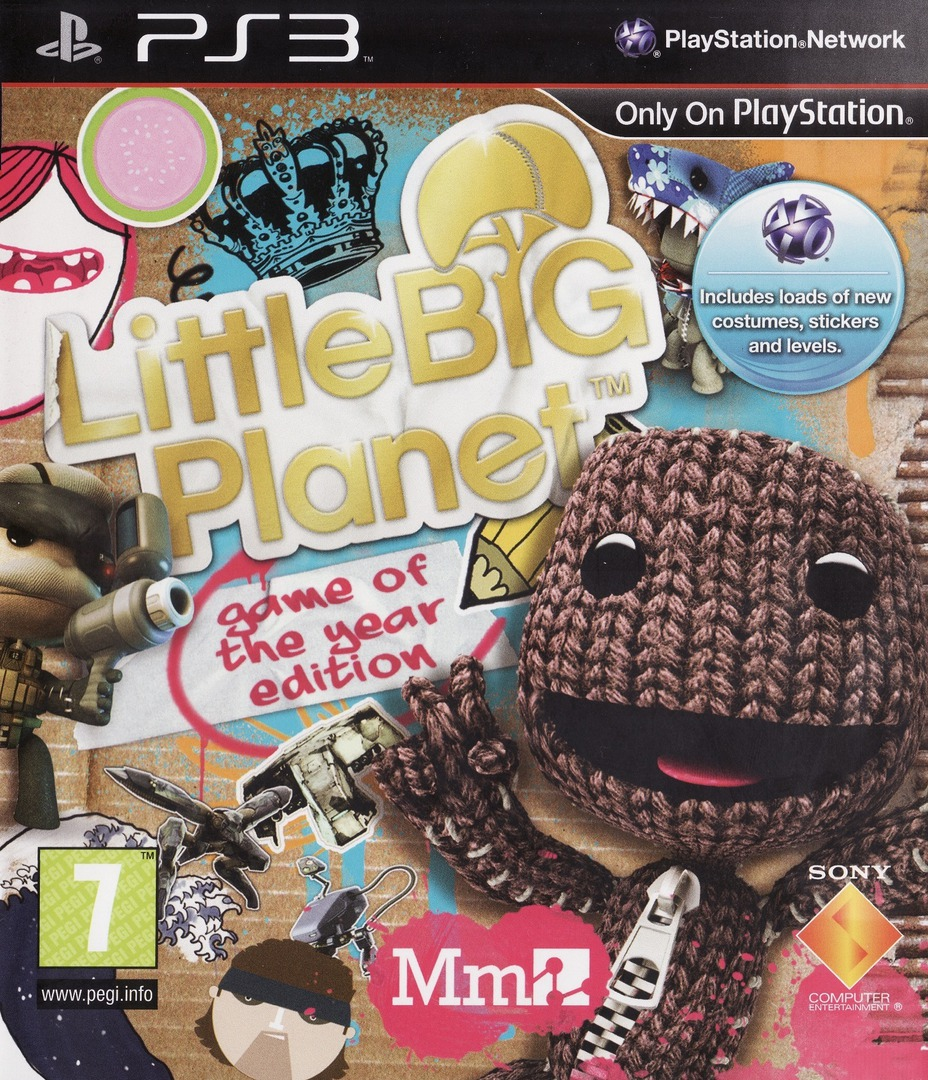 LittleBigPlanet (Game of the Year Edition) PS3 coverHQ (BCES00611)