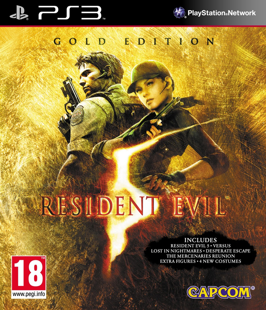 Resident Evil 5: Gold Edition PS3 coverHQ (BCES00816)
