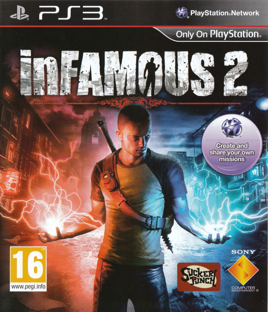inFamous 2 PS3 coverHQ (BCES01144)