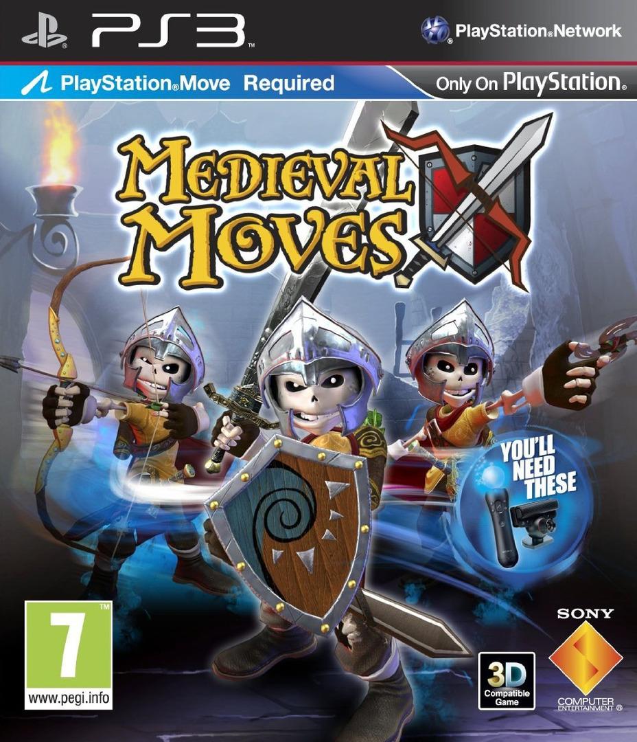 Kết quả hình ảnh cho Medieval Moves cover ps3