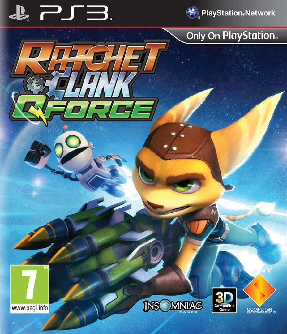Ratchet & Clank: QForce PS3 coverHQ (BCES01594)