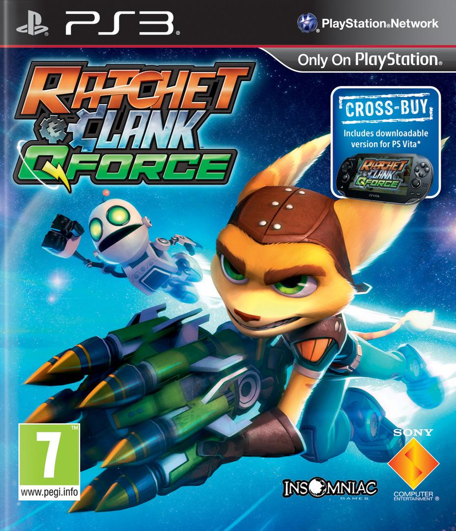 Ratchet & Clank: QForce PS3 coverHQ (BCES01626)