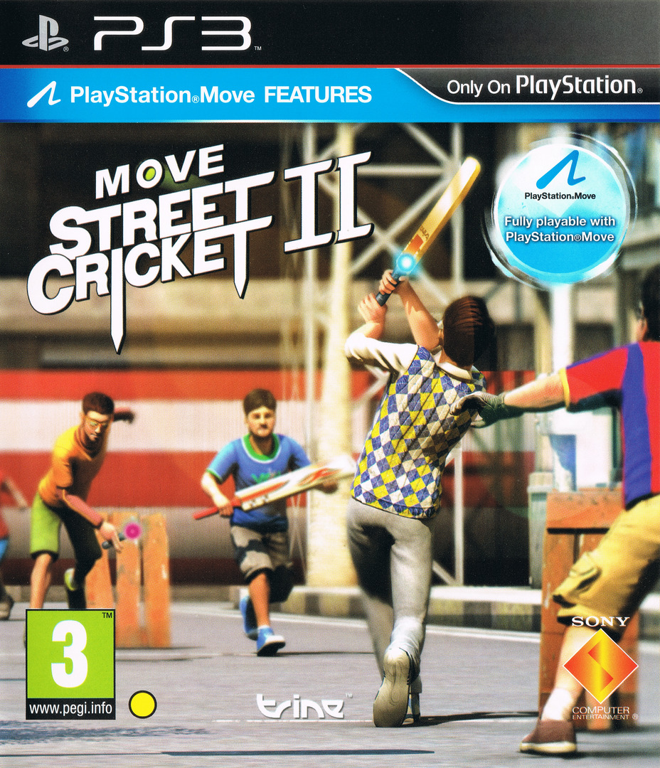 Move Street Cricket II PS3 coverHQ (BCES01695)