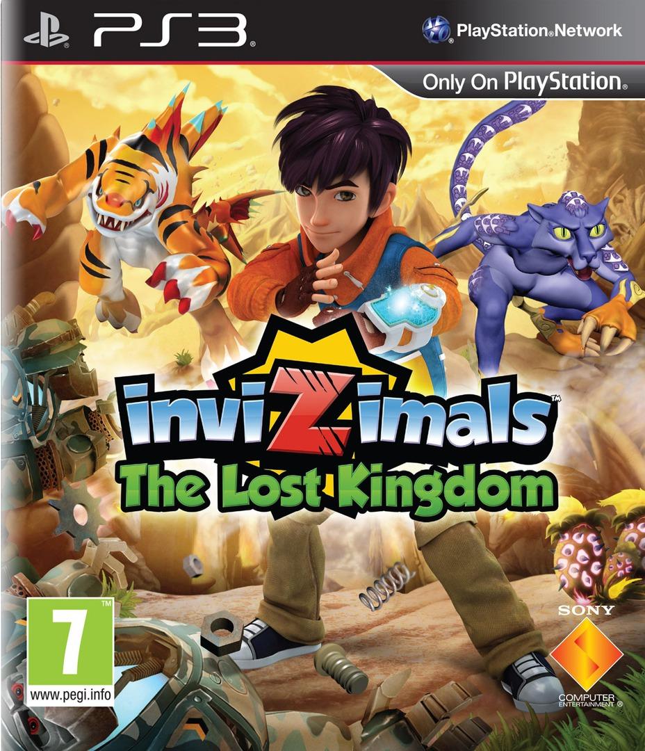 Invizimals: The Lost Kingdom PS3 coverHQ (BCES01700)