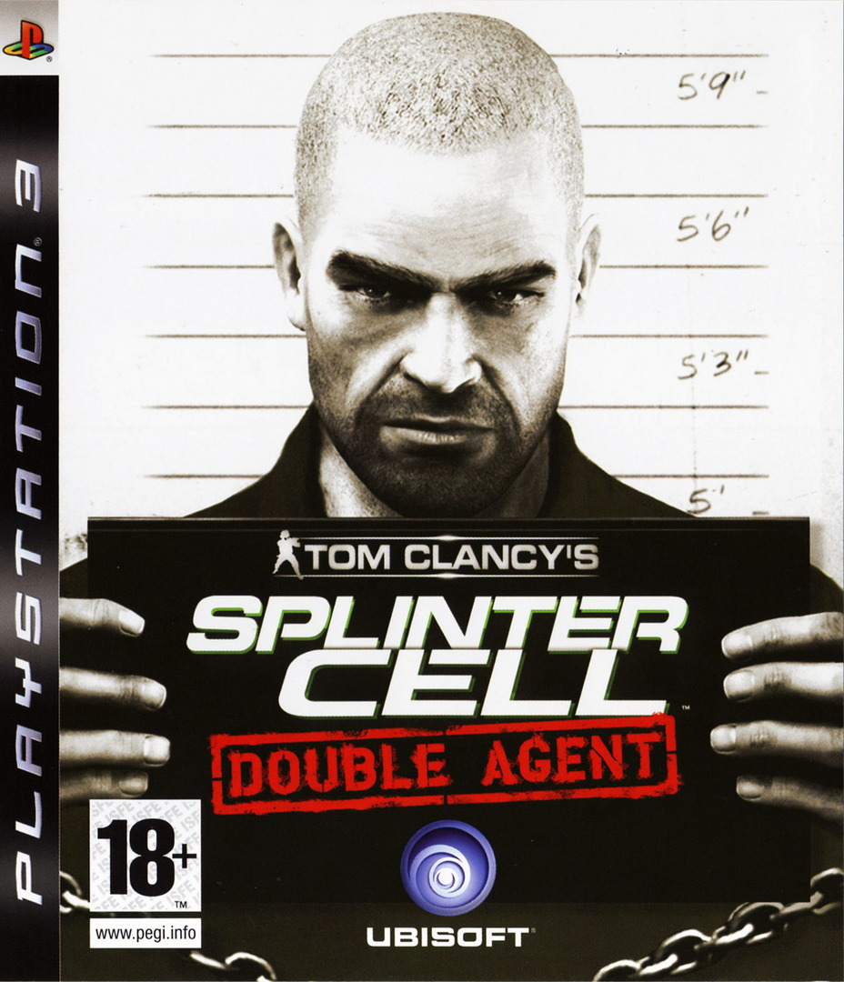 Tom Clancy's Splinter Cell: Double Agent PS3 coverHQ (BLES00024)