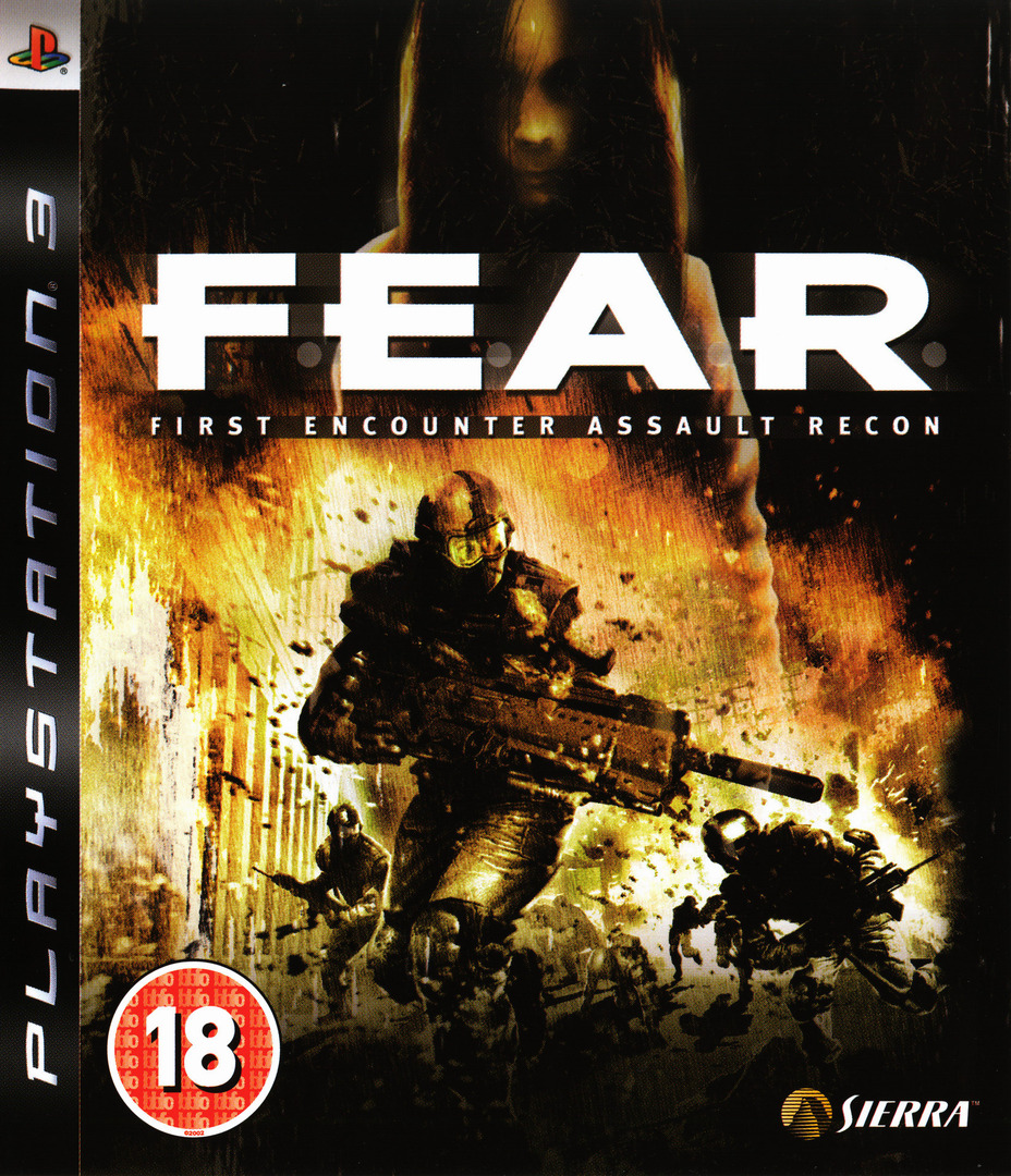 F.E.A.R.: First Encounter Assault Recon PS3 coverHQ (BLES00035)
