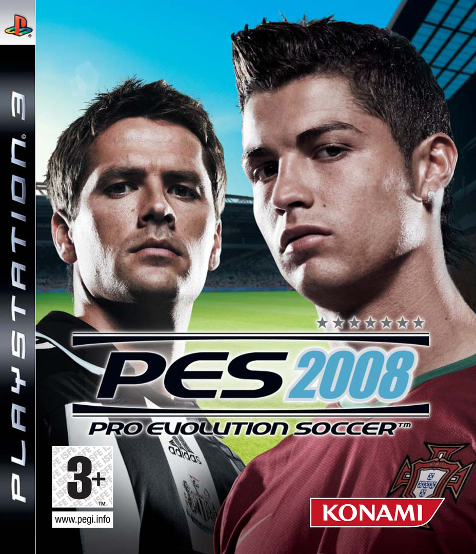Pro Evolution Soccer 2008 PS3 coverHQ (BLES00110)
