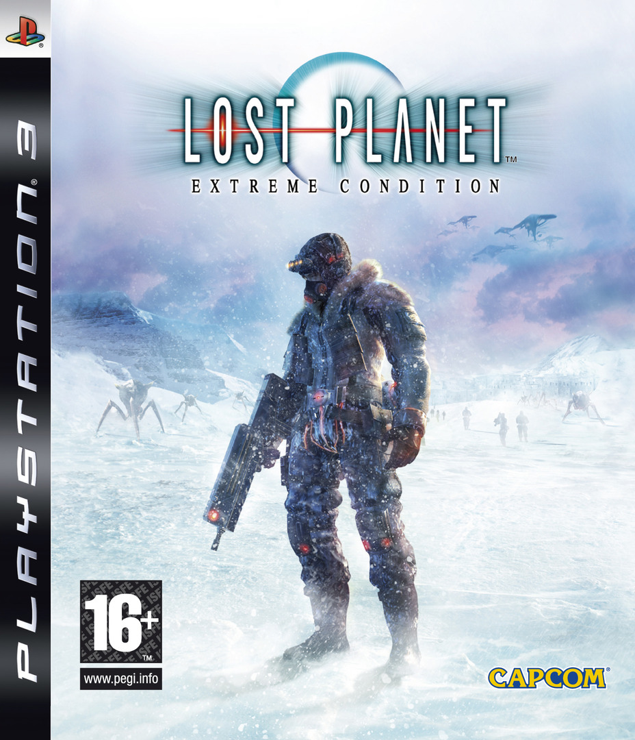 Lost Planet: Extreme Condition PS3 coverHQ (BLES00198)