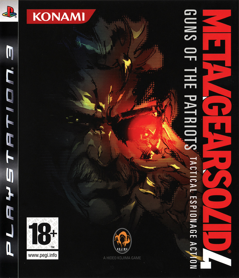 Metal Gear Solid 4: Guns of the Patriots PS3 coverHQ (BLES00246)