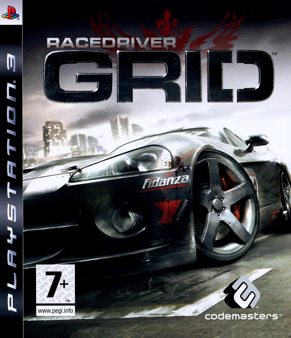 Race Driver Grid PS3 coverHQ (BLES00256)