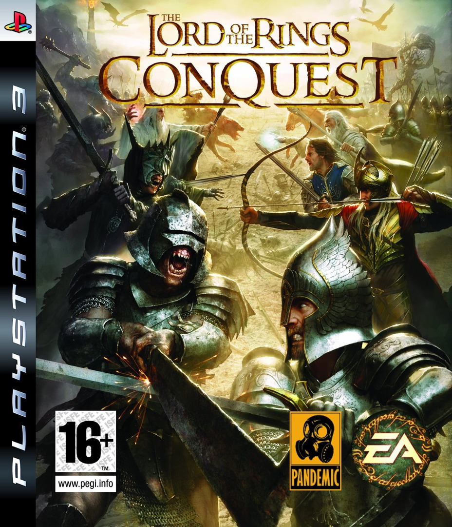 The Lord of the Rings: Conquest PS3 coverHQ (BLES00412)
