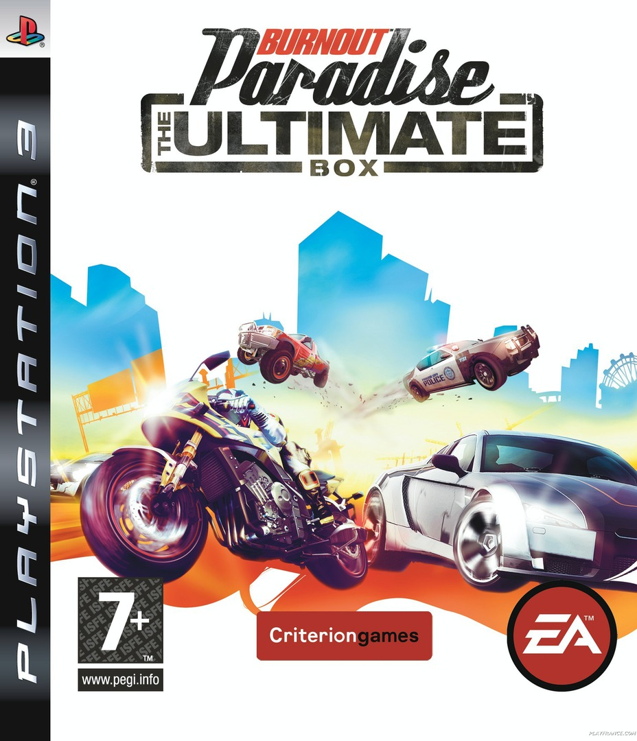 Burnout Paradise: The Ultimate Box PS3 coverHQ (BLES00455)